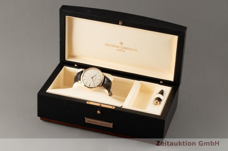 gebrauchte Luxusuhr Vacheron & Constantin Patrimony 18k Gold Handaufzug Kal. 1400 Ref. 81180  | 2006745 _0
