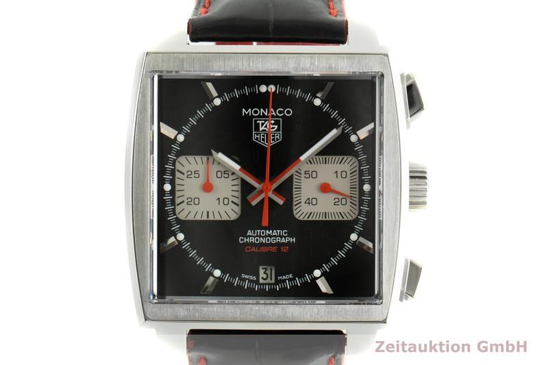 gebrauchte Luxusuhr Tag Heuer Monaco Chronograph Stahl Automatik Kal. 12 Ref. CAW2119 LIMITED EDITION | 2006752 _0