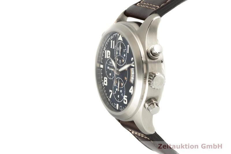 gebrauchte Luxusuhr IWC Doppelchronograph Chronograph Stahl Automatik Kal. 79420 Ref. 3718  | 2006809 _0