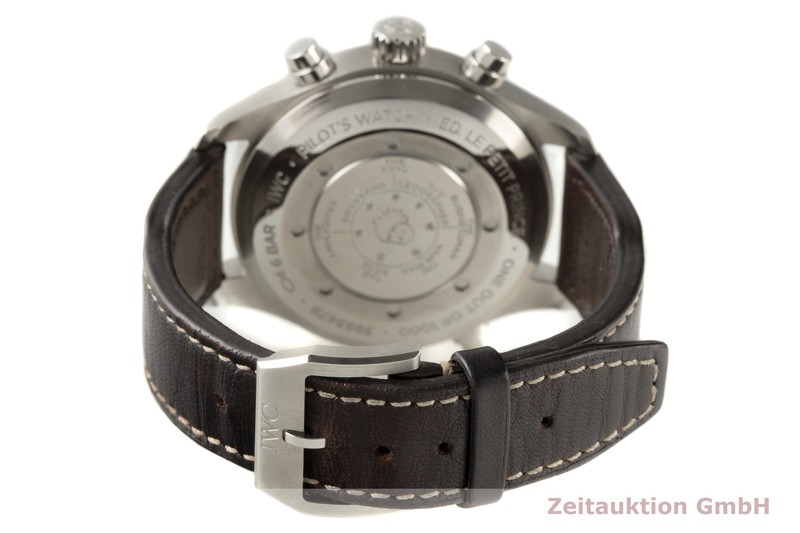 gebrauchte Luxusuhr IWC Doppelchronograph Chronograph Stahl Automatik Kal. 79420 Ref. 3718  | 2006809 _1