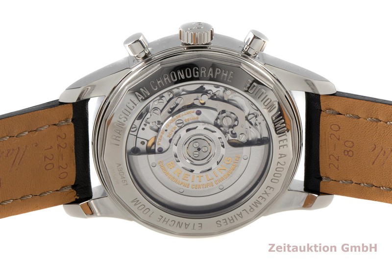 gebrauchte Luxusuhr Breitling Transocean Chronograph Stahl Automatik Kal. B04 Ref. AB0451 LIMITED EDITION | 2006832 _1