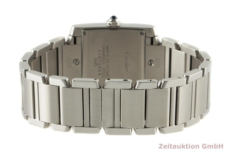 gebrauchte Luxusuhr Cartier Tank Francaise Stahl Quarz Kal. 175A Ref. 2465  | 2006844 _1