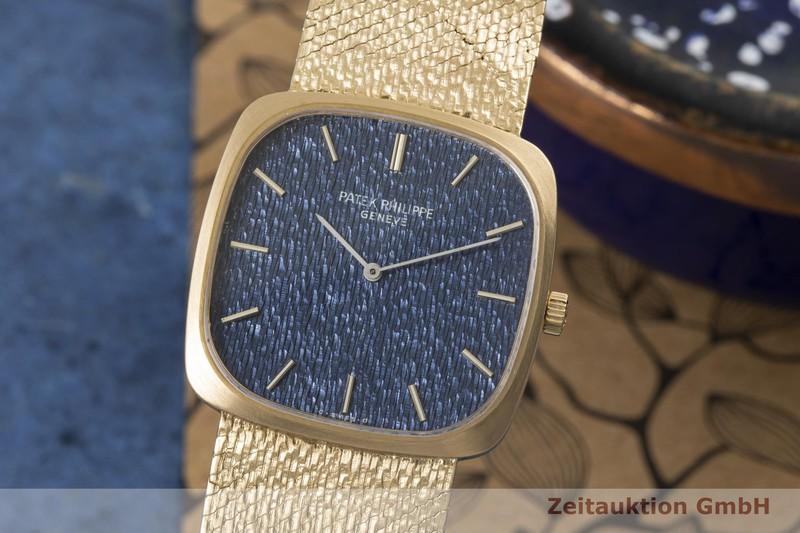 gebrauchte Luxusuhr Patek Philippe Golden Ellipse 18k Gold Handaufzug Kal. 175 Ref. 3566/1 VINTAGE  | 2006848 _0
