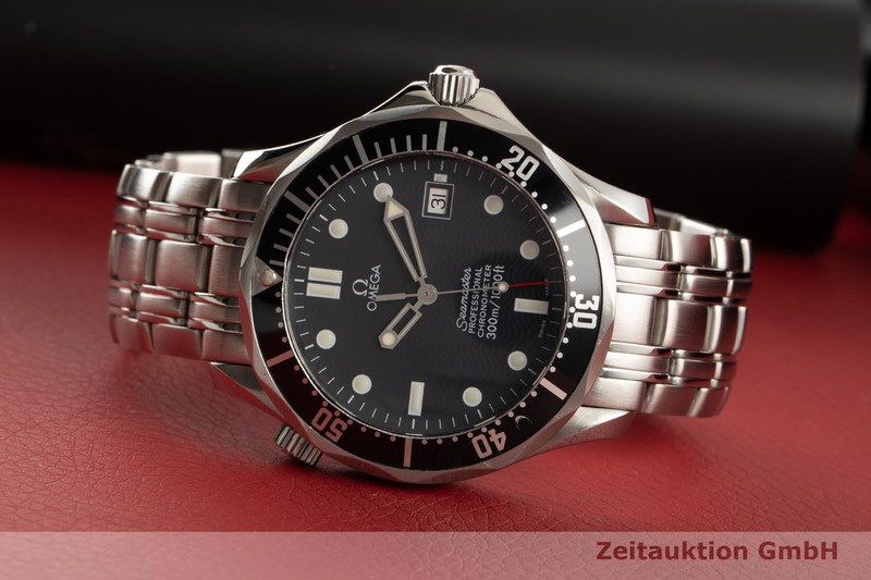 gebrauchte Luxusuhr Omega Seamaster Stahl Automatik Kal. 1120 Ref. 168.1623  | 2006852 _0
