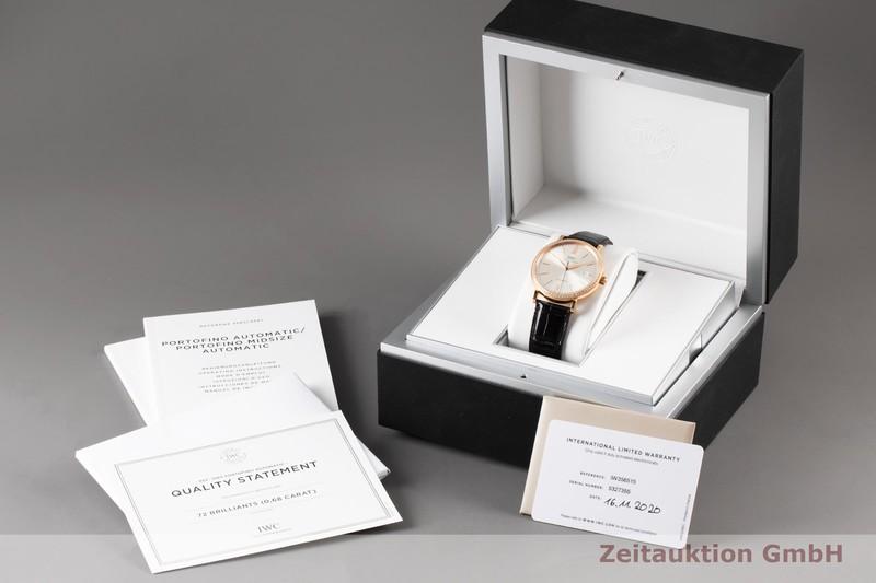 gebrauchte Luxusuhr IWC Portofino 18k Rotgold Automatik Kal. 35111 Ref. IW356515    2006860 _0