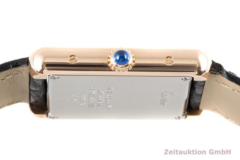 gebrauchte Luxusuhr Cartier Tank 18k Rotgold Quarz Kal. 157 Ref. W5200024, 3168  | 2006862 _1