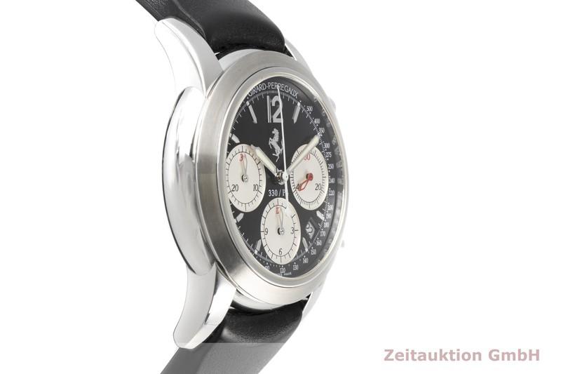 gebrauchte Luxusuhr Girard Perregaux Ferrari Chronograph Stahl Automatik Kal. 22CO.S Ref. 8028 LIMITED EDITION | 2006865 _0