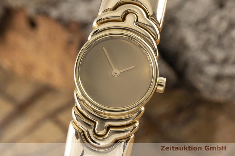 gebrauchte Luxusuhr Bvlgari Parentesi 18k Gold Quarz Ref. BJ01  | 2006875 _0