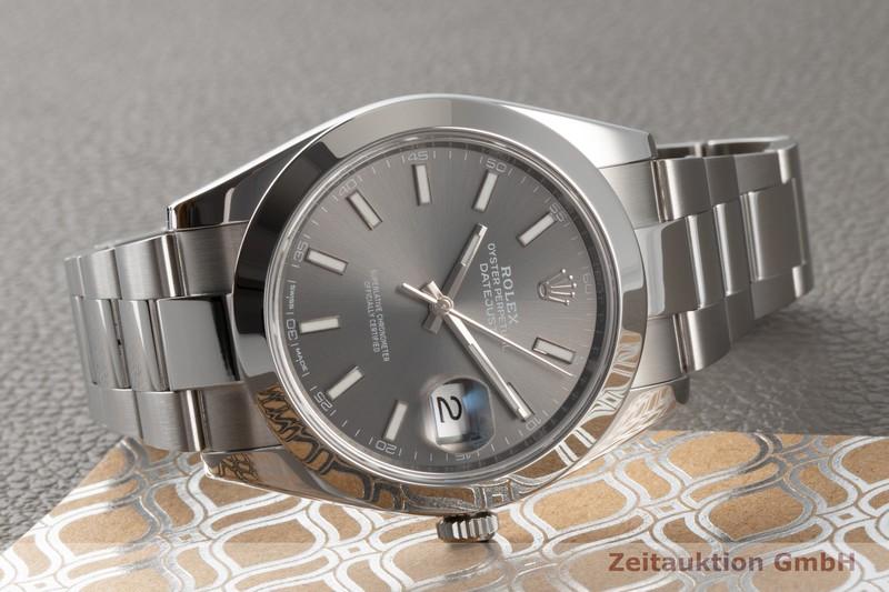 gebrauchte Luxusuhr Rolex Datejust Stahl Automatik Kal. 3235 Ref. 126300  | 2006893 _0