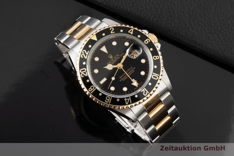 gebrauchte Luxusuhr Rolex GMT Master II Stahl / Gold Automatik Kal. 3185 Ref. 16713  | 2006899 _0