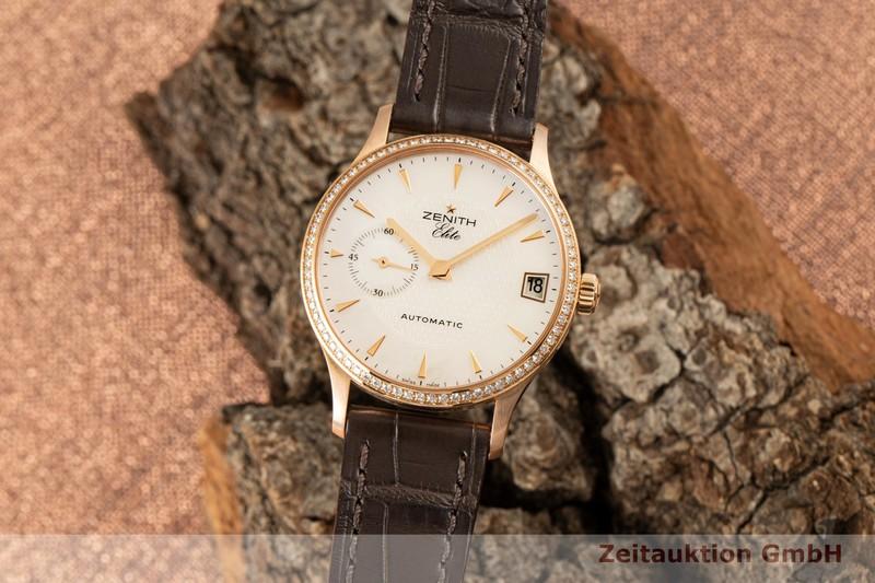 gebrauchte Luxusuhr Zenith Elite 18k Rotgold Automatik Kal. 680 Ref. 18/22.1025.680  | 2006901 _0