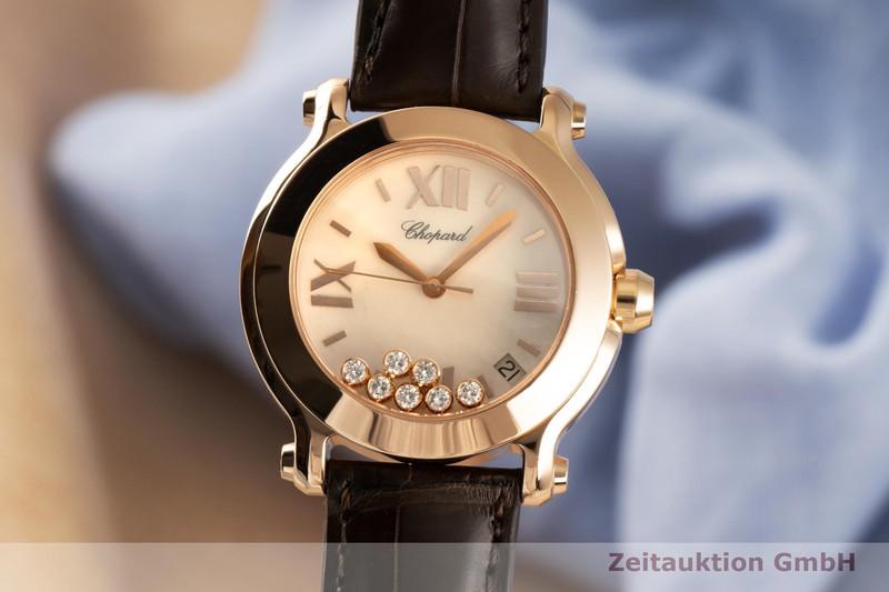gebrauchte Luxusuhr Chopard Happy Sport 18k Gold Quarz Ref. 277472-5002  | 2006903 _0