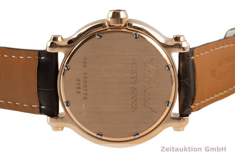 gebrauchte Luxusuhr Chopard Happy Sport 18k Gold Quarz Ref. 277472-5002  | 2006903 _1