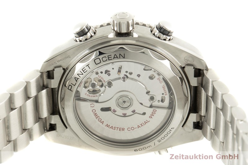 gebrauchte Luxusuhr Omega Seamaster Chronograph Stahl Automatik Kal. 9900 Ref. 215.30.46.51.01.002  | 2006918 _1