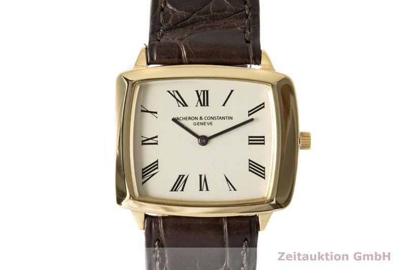 gebrauchte Luxusuhr Vacheron & Constantin * 18k Gold Handaufzug Kal. 1003 Ref. 7220 VINTAGE  | 2006920 _0
