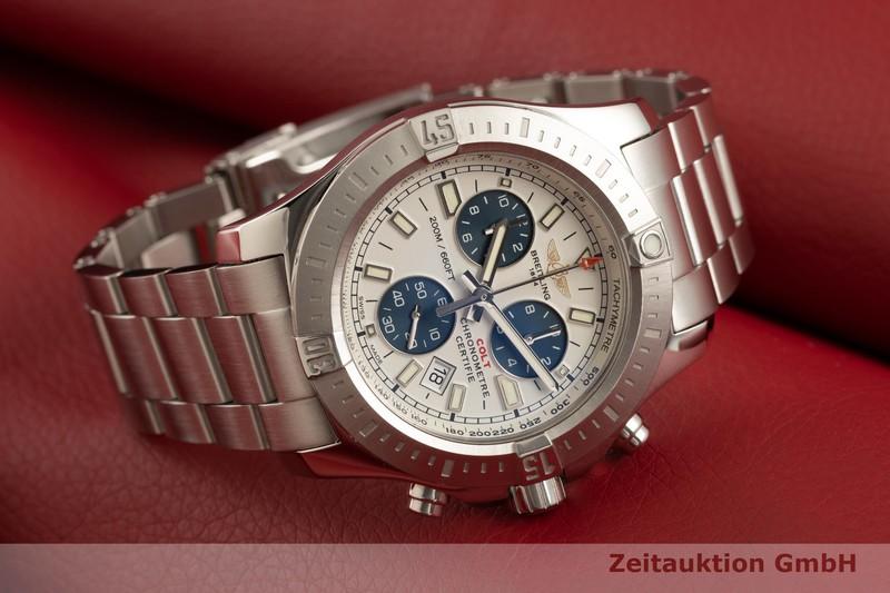gebrauchte Luxusuhr Breitling Colt Chronograph  Chronograph Stahl Quarz Kal. B73 Ref. A73388  | 2006952 _0
