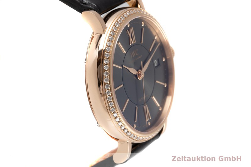 gebrauchte Luxusuhr IWC Portofino 18k Rotgold Automatik Kal. 35111 Ref. IW458108  | 2006958 _0