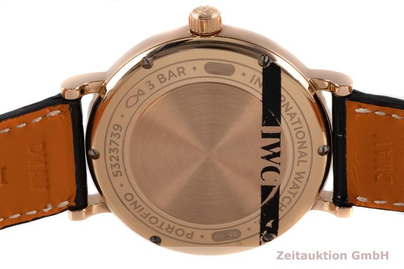 gebrauchte Luxusuhr IWC Portofino 18k Rotgold Automatik Kal. 35111 Ref. IW458108  | 2006958 _1