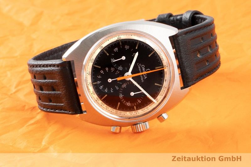 gebrauchte Luxusuhr Omega Seamaster Chronograph Stahl Handaufzug Kal. 321 Ref. 145.006-66  | 2006972 _0