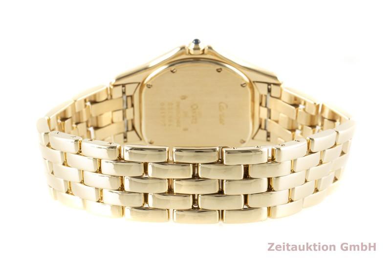 gebrauchte Luxusuhr Cartier Cougar 18k Gold Quarz Kal. 687 Ref. 887904    2006977 _1