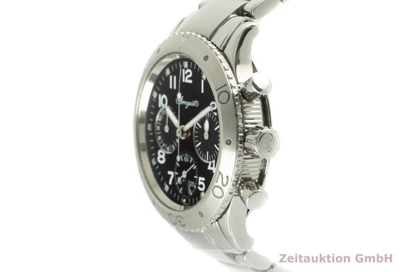 gebrauchte Luxusuhr Breguet Type XX Chronograph Stahl Automatik Kal. 550 Ref. 4820ST/D2/S76  | 2006988 _0