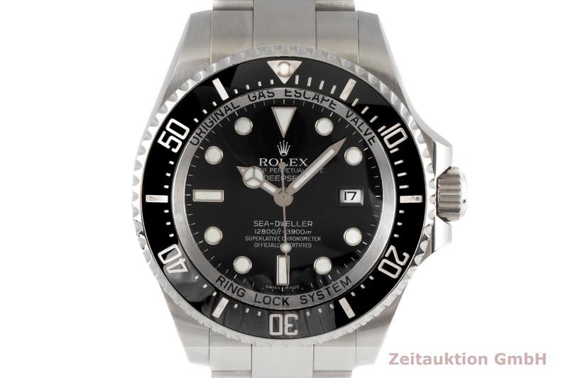gebrauchte Luxusuhr Rolex Sea Dweller Stahl Automatik Kal. 3135 Ref. 116660  | 2007002 _0