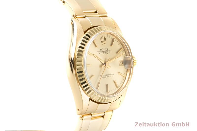 gebrauchte Luxusuhr Rolex Date 18k Gold Automatik Kal. 2030 Ref. 6824 VINTAGE  | 2007015 _0