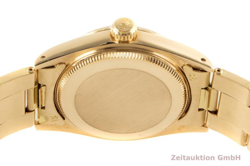 gebrauchte Luxusuhr Rolex Date 18k Gold Automatik Kal. 2030 Ref. 6824 VINTAGE  | 2007015 _1