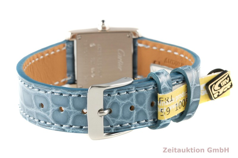 gebrauchte Luxusuhr Cartier Tank Francaise 18k Weissgold Quarz Kal. 057 Ref. 2403    2007032 _1