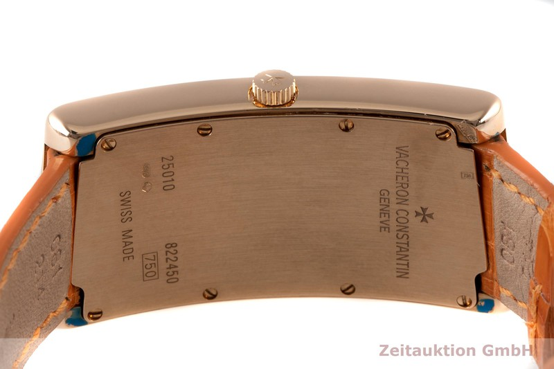 gebrauchte Luxusuhr Vacheron & Constantin Asymmetric 18k Rotgold Quarz Kal. 1202 Ref. 25010  | 2007033 _1