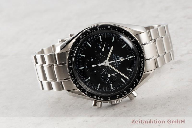 gebrauchte Luxusuhr Omega Speedmaster Moonwatch Chronograph Stahl Handaufzug Kal. 1861 Ref. 3570.50.00, 145.0022, 345.0022    2007045 _0