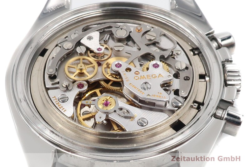 gebrauchte Luxusuhr Omega Speedmaster Moonwatch Chronograph Stahl Handaufzug Kal. 1861 Ref. 3570.50.00, 145.0022, 345.0022    2007045 _1