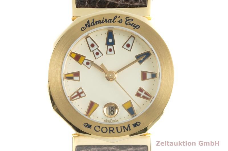 gebrauchte Luxusuhr Corum Admirals Cup 18k Gold Quarz Ref. 39.930.56  | 2007052 _0