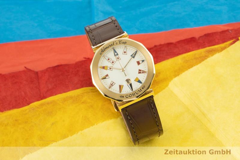gebrauchte Luxusuhr Corum Admirals Cup 18k Gold Quarz Ref. 39.830.56  | 2007053 _0