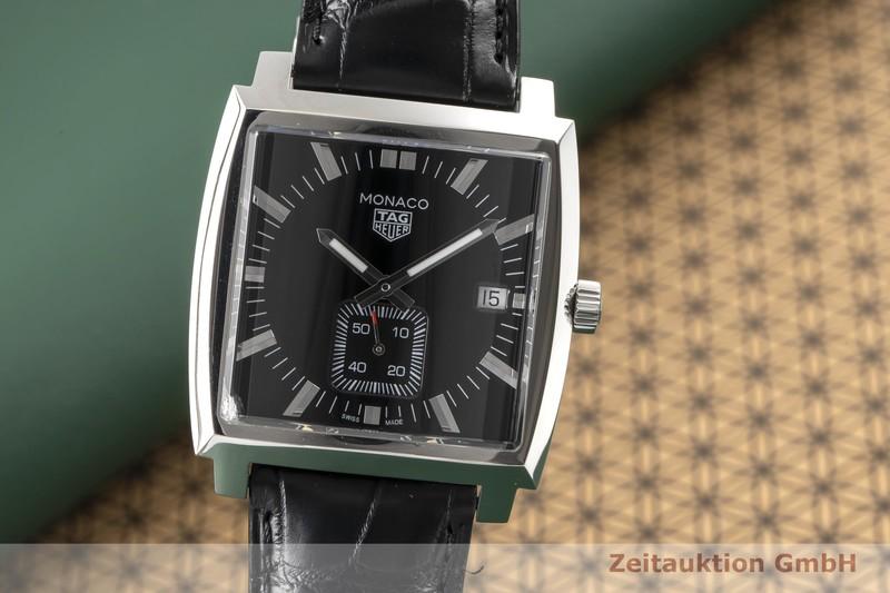 gebrauchte Luxusuhr Tag Heuer Monaco Stahl Quarz Ref. WAW131A    2007062 _0