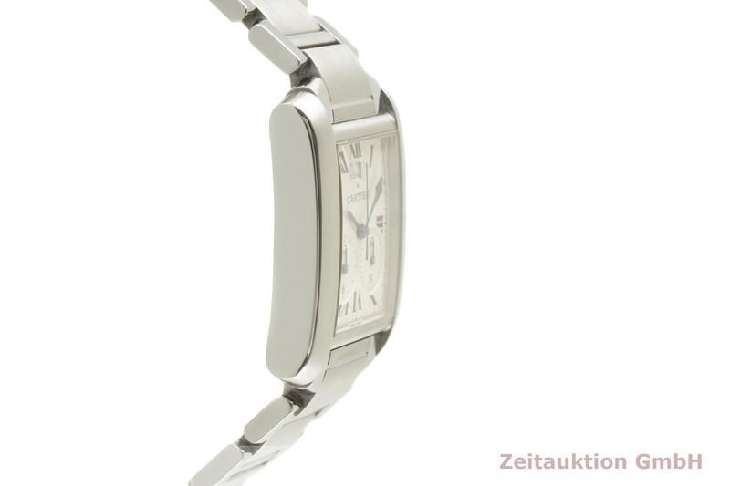 gebrauchte Luxusuhr Cartier Tank Francaise Chronograph Stahl Quarz Kal. 222 Ref. 2653  | 2007063 _0