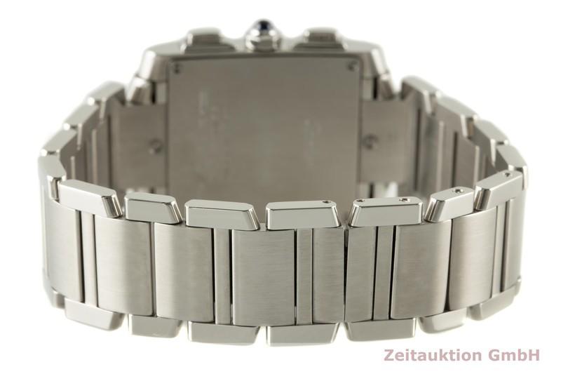 gebrauchte Luxusuhr Cartier Tank Francaise Chronograph Stahl Quarz Kal. 222 Ref. 2653  | 2007063 _1