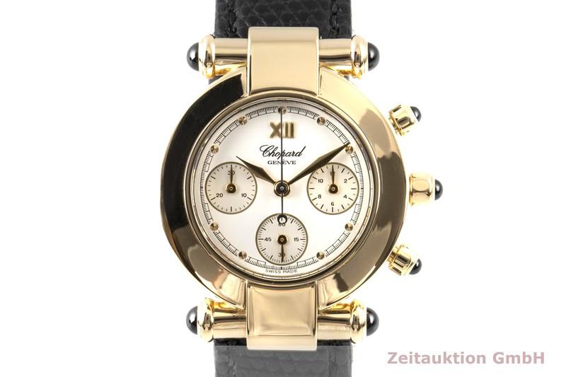 gebrauchte Luxusuhr Chopard Imperiale Chronograph 18k Gold Quarz Kal. 1137 Ref. 383157  | 2007065 _0