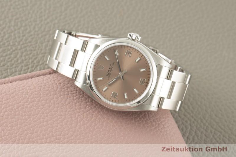 gebrauchte Luxusuhr Rolex Oyster Perpetual Stahl Automatik Kal. 2230 Ref. 77080  | 2007081 _0