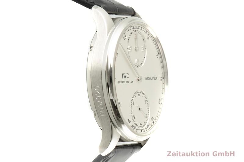 gebrauchte Luxusuhr IWC Portugieser Platin Handaufzug Kal. 98245 Ref. IW544403 LIMITED EDITION | 2007119 _0
