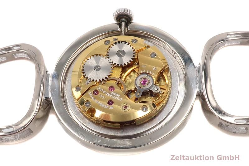 gebrauchte Luxusuhr Chopard Geneve 18k Weissgold Handaufzug Kal. ETA 2512  | 2007120 _1