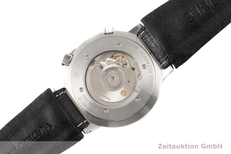 gebrauchte Luxusuhr Mühle Global-Timer  Stahl Automatik Ref. M1-41-13-LB LIMITED EDITION | 2007127 _1