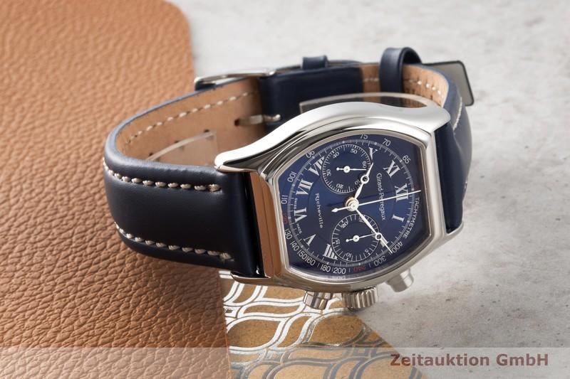 gebrauchte Luxusuhr Girard Perregaux Richeville Chronograph Stahl Handaufzug Kal. 8381-473 Ref. 2710    2007132 _0