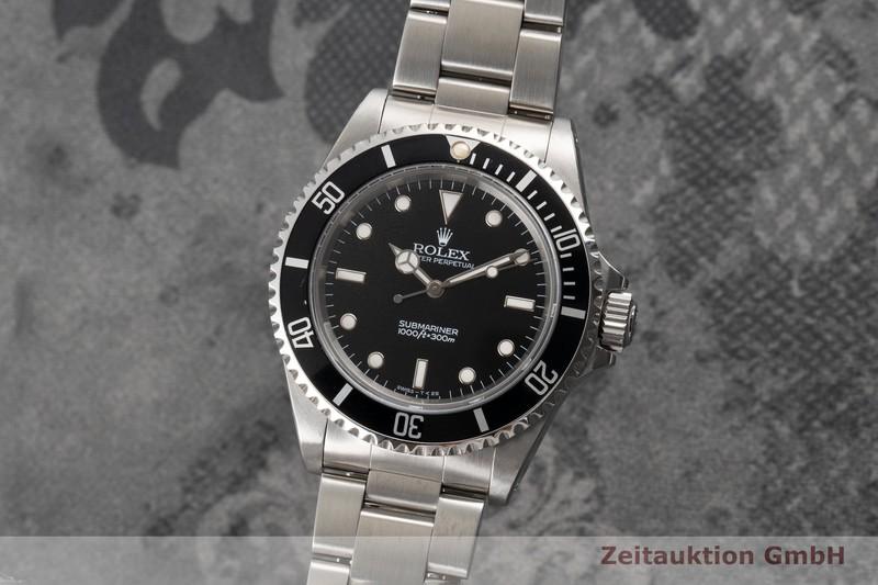 gebrauchte Luxusuhr Rolex Submariner Stahl Automatik Kal. 3000 Ref. 14060    2007133 _0