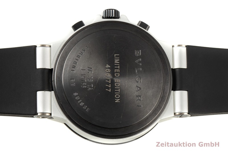 gebrauchte Luxusuhr Bvlgari Diagono Chronograph Aluminium Automatik Kal. 080 TEEA Ref. AC38TA LIMITED EDITION | 2007149 _1