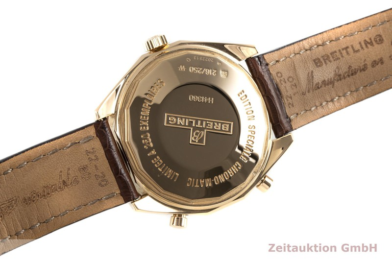 gebrauchte Luxusuhr Breitling Chrono-Matic Chronograph 18k Gold Automatik Kal. B41 Ref. H41360 LIMITED EDITION | 2007154 _1