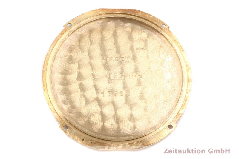 gebrauchte Luxusuhr Piaget Gouverneur 18k Gold Handaufzug Kal. 1050P Ref. 15968  | 2007174 _1