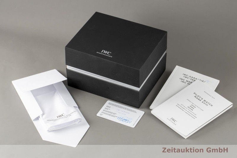 gebrauchte Luxusuhr IWC Mark XVIII Stahl Automatik Kal. 30110 Ref. IW327004  | 2007181 _0