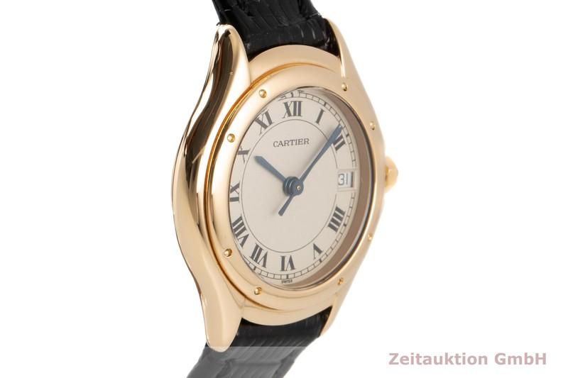 gebrauchte Luxusuhr Cartier Cougar 18k Gold Quarz  | 2007215 _0