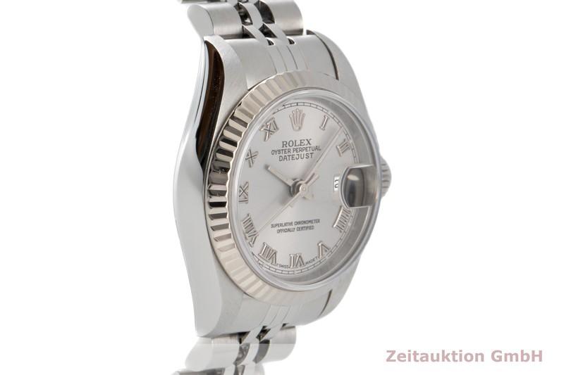 gebrauchte Luxusuhr Rolex Lady Datejust Stahl / Weissgold Automatik Kal. 2135 Ref. 69174    2007216 _0